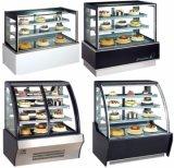 De commerciële Koeler van de Vertoning van de Cake van de Showcase, de Koelkast van de Bakkerij en de Koeler van de Vertoning van het Gebakje