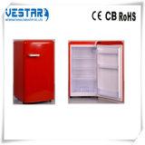 98L 냉장고를 가진 빨간색 소형 냉장고