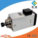 12kw 300Hz 18000rpm Er40 quadratische Luft abgekühlte CNC-Spindel