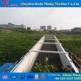 Mietitrice automatica completa delle piante acquatiche dell'acqua