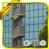 Projeto exterior arquitectónico vidro isolado para o projeto de edifício