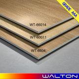azulejo esmaltado de madera rústico de la porcelana del azulejo de suelo 600X600 (WT-66014)