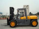 10t China maakte Diesel van de Motor Isuzu Vorkheftruck
