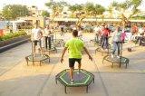 De professionele Commerciële het Springen Trampoline van de Geschiktheid met Gelaste Voeten en de Gelaste Staaf van het Handvat