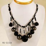 Pendant de collier de bijoux de mode, collier d'alliage (WX-51318)