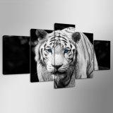 HD напечатало картину напечатанную тигром на изображении Ym-011 плаката печати украшения холстины обрамленном холстиной