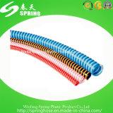 Boyau spiralé flexible de l'eau d'aspiration de PVC