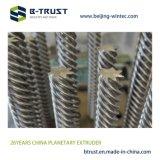 Btrust 고품질로 윤내는 PVC를 위한 행성 롤러 압출기