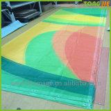 옥외 광고 전시 PVC 비닐 메시 담 기치 (TJ-09)를 인쇄하는 디지털