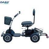 容易な折りたたみの24V 1000Wモーターを搭載する携帯用電力のゴルフカートの小選挙