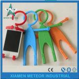 Подгонянные продукты силикона впрыски браслета силикона подарка промотирования отливая в форму