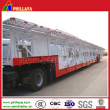 Сверхмощный 2/3 Axles трейлеров транспортера автомобиля Semi