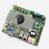 2LANのFanelss/Fan Integrated Intel Atom D525 Industry Motherboard