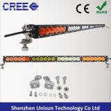 50inch 12V 240W escogen la barra ligera del CREE LED de la fila 5W