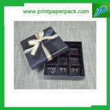 習慣によって印刷される優れたボール紙のペーパー宝石箱