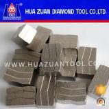 Segment de diamant pour granit de marbre Autre coupe de pierre et de béton