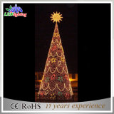 O diodo emissor de luz ao ar livre feito sob encomenda da manufatura de China ilumina árvores de Natal