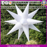 Aufblasbarer LED Stern der bunten aufblasbaren Stern-Licht-Ballon-Partei-Dekoration-