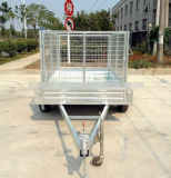 Generi differenti facoltativi del rimorchio del contenitore di asse in tandem di gabbia (SWT-TT85)