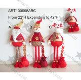 Het uitbreiden van Legged Gift van de Decoratie van Kerstmis met Lovertje Greetings+Giftbag