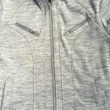 El paño grueso y suave del hombre de la manera Relampaga-para arriba Hoodies con el bolsillo en la ropa Fw-8663 del desgaste del deporte