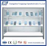 Coffret d'étalage transparent d'application neuve pour le double Module-DISCA latéral d'Afficheur LED