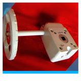 Caja de gusano de engranaje de la válvula de aleación de aluminio color plata Bct-Agv-03