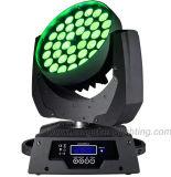 Профессиональное Stage Lighting 36*10W 4 в 1 RGBW СИД Zoom Moving Head Light