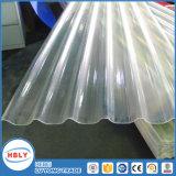 Clear Buiding Roof Material Proteção UV Placa de papelão ondulado