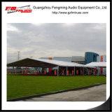 Im Freien transparentes Zelt für Hochzeitsfest verwendete