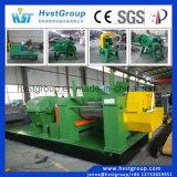 Planta de reciclaje inútil semiautomática del neumático/cadena de producción de goma del polvo/trituradora inútil del neumático