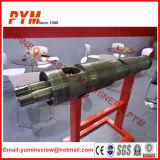 Barril de parafuso cíclico bimetálico para máquina de borracha