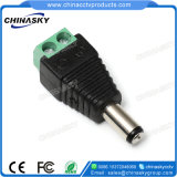 2.1 * 5.5mm CCTV Male DC-connector met schroef Terminal (PC102)