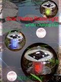 Luz flotante solar w/Color de la burbuja que cambia LED (PF212)