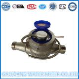 304 medidores de água do aço inoxidável com medidor de água do pulso