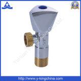 Fabrik-Preis-gesundheitliche Waren MessingToile Wasser-Eckventil (YD-5004)