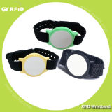 EM4102 RFID Silicon Pulseira, S50 S70 RFID Pulseira de silicone, T5577 pulseira