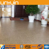 Barato y fácil de mantener Piedra PVC piso de vinilo