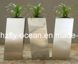 庭DecorのためのFo9023 Stainless Steel Planter