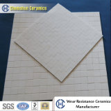 Abnutzung Resistant Alumina Ceramic Dimple Tile Sheet für Drum Pulley