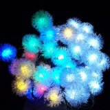 Outdoor LED Solar Edelweiss String Lights
