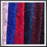 Листья шнурка вышивки сетки полиэфира и вышитый цветком шнурок вышивки Tulle шнурка