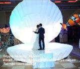Opblaasbare Shell van de Partij van het huwelijk Decoratie met Lichte leiden