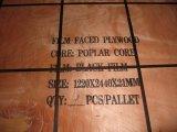 Negro Film Plywood Frente para materiales de construcción