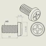 Milieuvriendelijke Nylon Klinknagels, Plastic Klemmen, Plastic Bevestigingsmiddelen