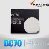 Nueva batería Bc70 de la alta capacidad para Motorola Razr V3X E6