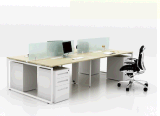 A floresta do Fsc certificada aprovou pela mobília de escritório moderna da tabela do computador do GV 2016 para a divisória verde da combinação de sistema da estação de trabalho da tela do escritório