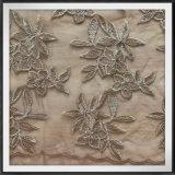 網の刺繍のレースのテュルの刺繍のレースの金花の刺繍のレース