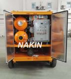 Prueba de agua cerrado aceite del transformador de la máquina de reciclaje, purificación de aceite