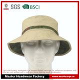 キャンバスのFarbicの男女兼用の屋外のバケツの帽子のFishmanの帽子